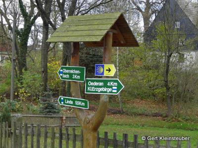 Wegweiser in Kirchdorf