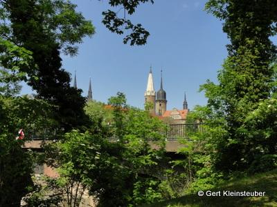 Blick zum Merseburger Dom