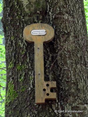 der Schlüssel zum Ruhlaer Häuschen