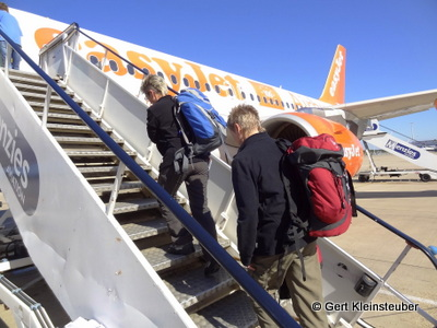 Abflug nach Asturias