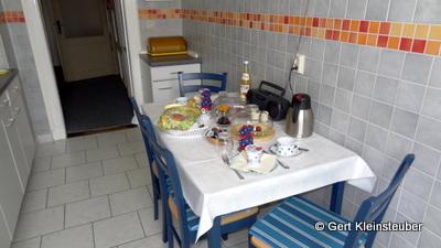 üppiges Frühstück in der Villa Martha