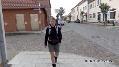 Aufbruch am Morgen in Wesenberg