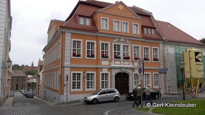die evangelische Stadtmission in der Langenstraße 43