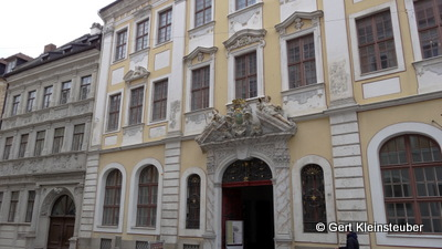 """barockes """"Durchhaus"""" mit zwei Höfen nach Leipziger Vorbild"""