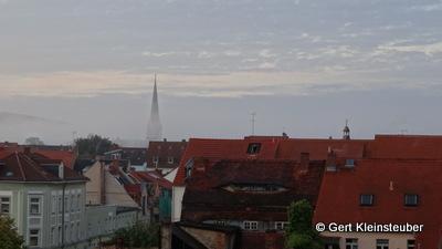 ein Lichtblick am Morgen: Wolkenlücken