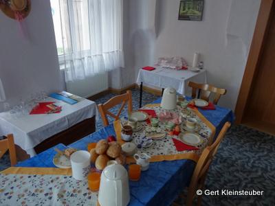 Frühstück in Kamenz