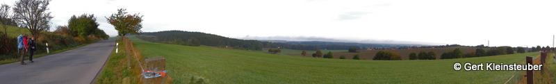 Panorama hinter Kamenz