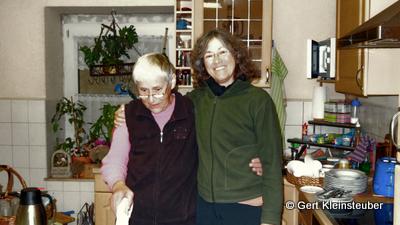 Helga mit Betina