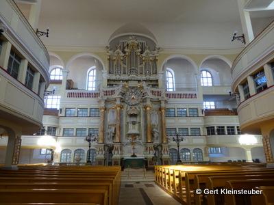 Kanzelaltar der Marienkirche