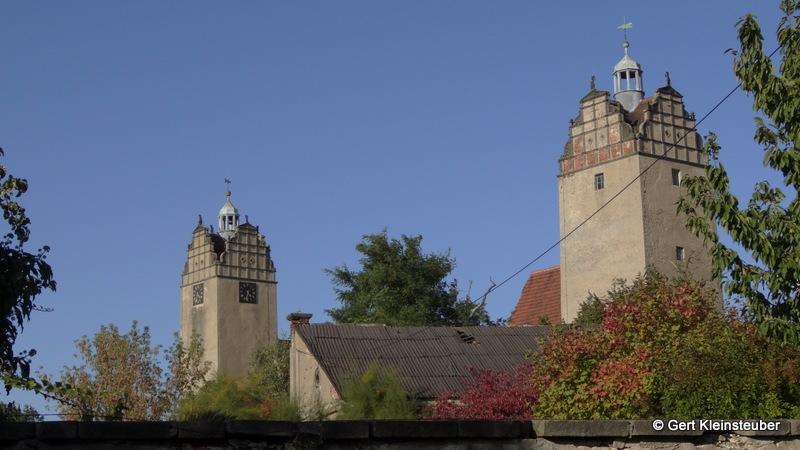 die beiden Schlosstürme