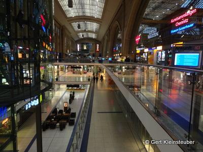 Abfahrt im Leipziger Hauptbahnhof