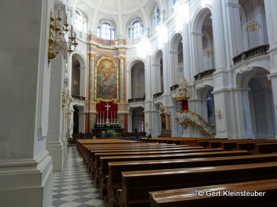 in der Dresdener Hofkirche