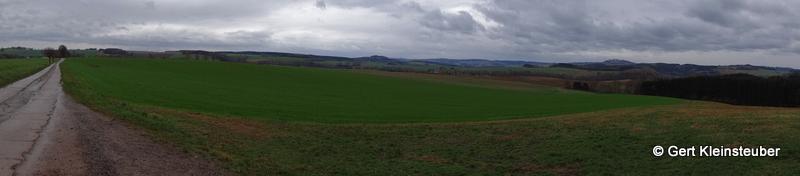 Panorama hinter Oederan