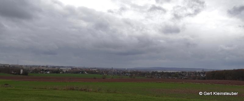 Blick nach Chemnitz