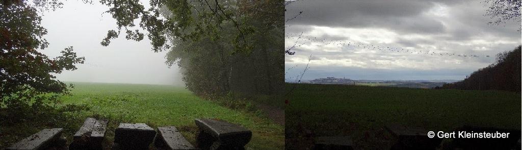 Augustusburgblick links 2014, rechts 2013