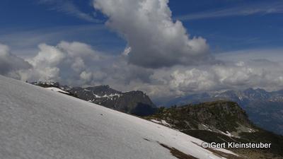 Walliser Bergwelt (hier Westflanke des Wasenhorns)