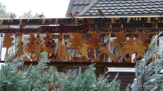 Willkommensgruß in Falkenau