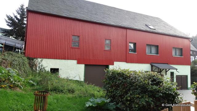 erster Stock rechts die Ferienwohnung im Dachgeschoss die Pilgerzimmer