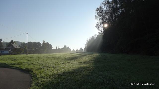 Reinsdorf am Morgen