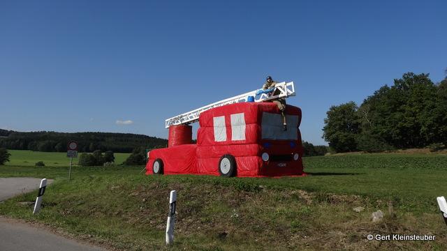 Feuerwehrfest in Hirschfeld