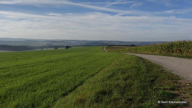 Kammweg oberhalb von Waldkirchen