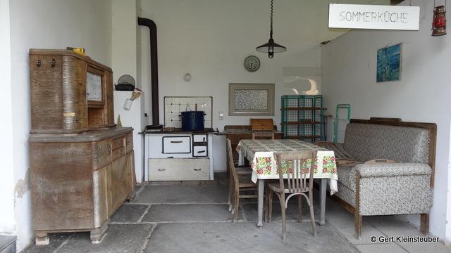 eine Sommerküche