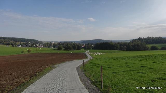 Blick zurück nach Schönau