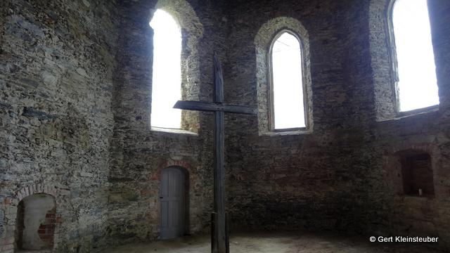 in der Wehrkirche in Triebel