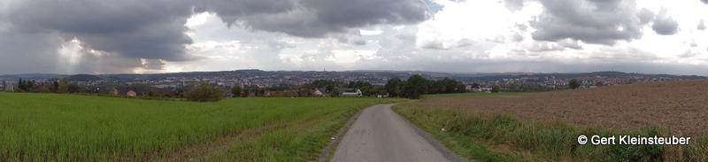 Panorama vor Hof