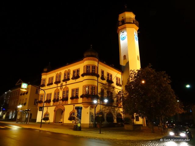 das Rathaus in Hof