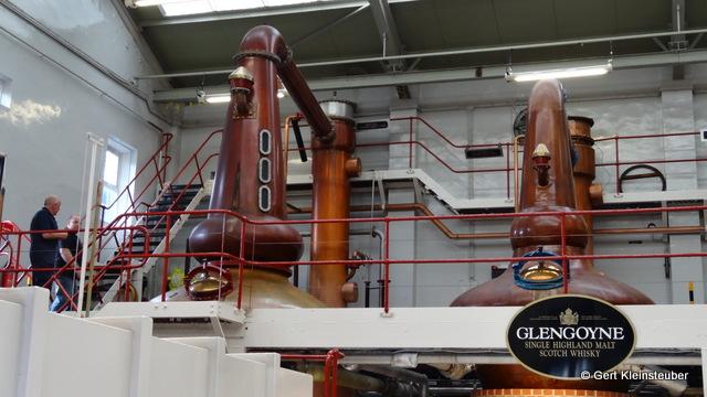 Glengoyne Distillery Brennblasen