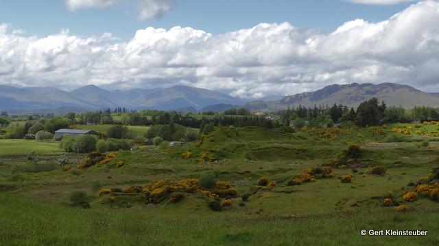 Loch Lomond und die Highlands kommen in Sicht