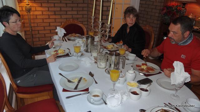 Frühstück im Geen Shadows