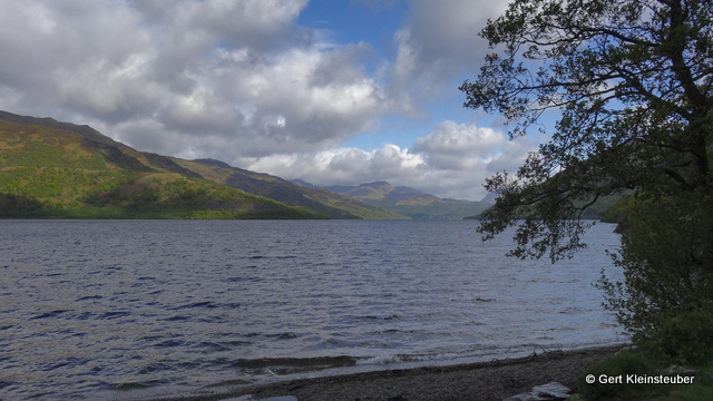 am Morgen in Rowardennan