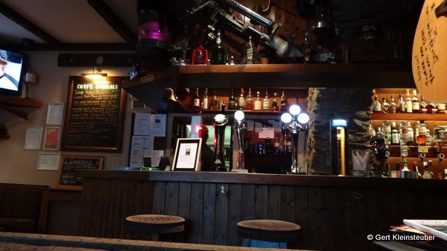 in der Bar der Beinglass Farm