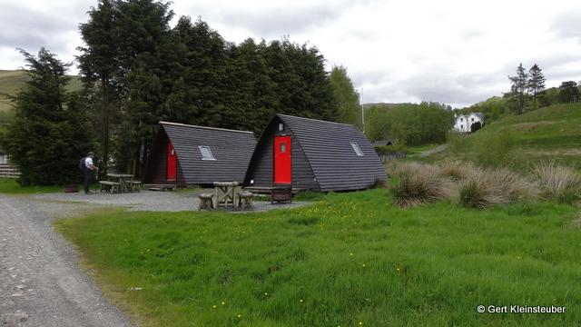 Hütten der Achtertyre Farm
