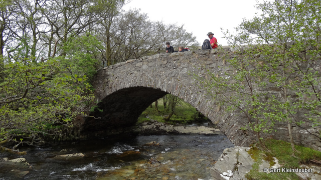 Brücke über den Allt Kinglass