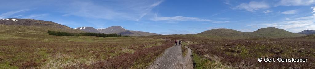 alte Militärstraße durch das Rannoch Moor