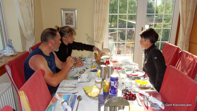 Frühstück bei Elzie
