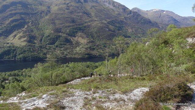 Blick zum Loch Leven