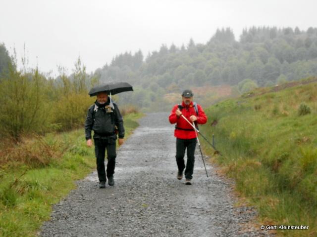 Steffen, mein Schirmchen und ich