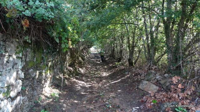 idyllische Wege hinter Arcozelo
