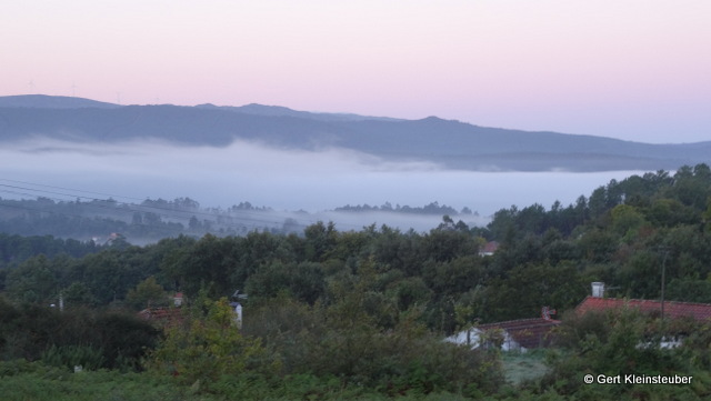 Morgengrauen über Agualonga