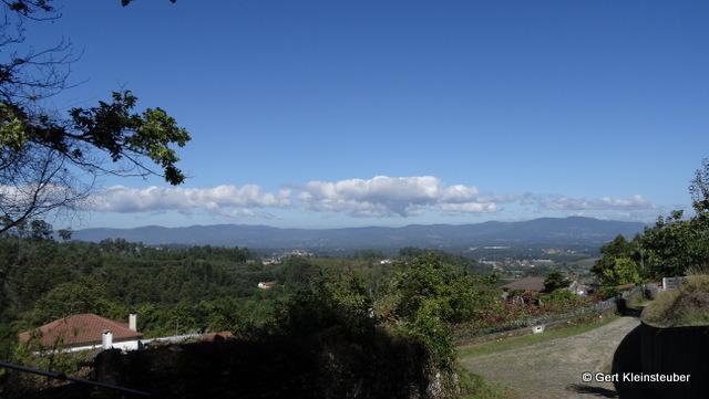 Panorama über das Becken des Minho