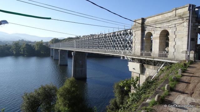 die Puente International von der spanischen Seite aus gesehen