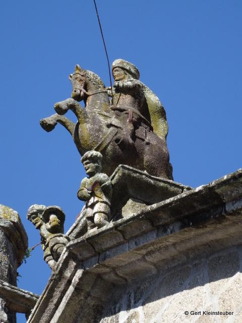 Matamoros auf der Santiagokirche