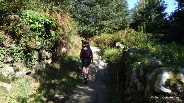 Aufstieg zum Alto da Canicouva