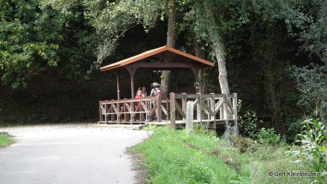 Brücke über den Rio Valga