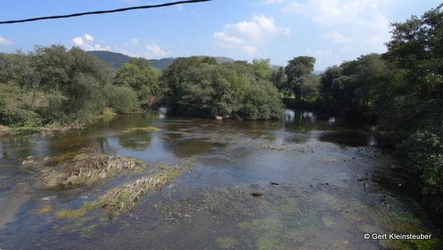 auf der Brücke über den Rio Xallas