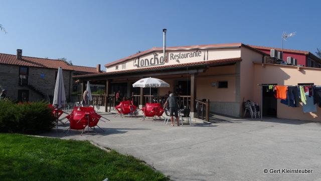 neues Restaurant in der Albergue Horreo in Olveiroa